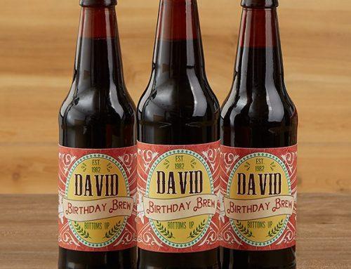 Cervezas y vinos personalizados