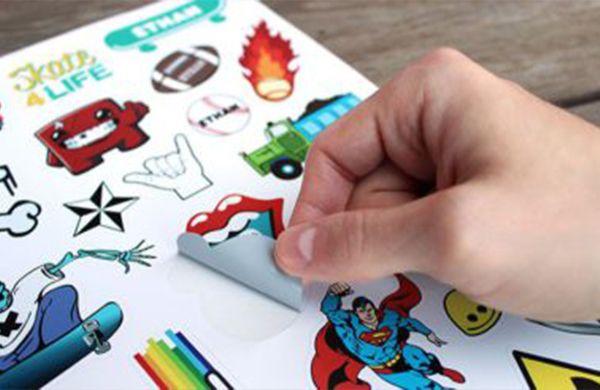 stickers y adhesivos personalizados