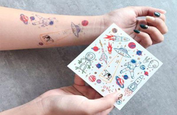 calcomanias y tatuajes personalizados